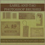 label and tag brushes