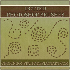 dotted doodle brushes