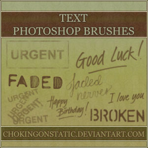 text brushes 1