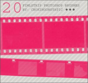 filmstrip brushes by chokingonstatic