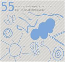 doodle brushes 1 by chokingonstatic