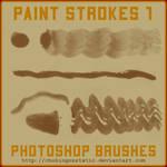 paint stroke brushes 1