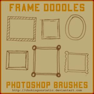 frame doodle brushes by chokingonstatic
