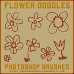 flower doodle brushes