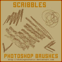 scribble brushes by chokingonstatic