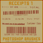 receipt brushes 1