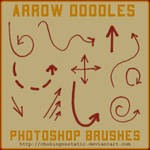 arrow doodle brushes