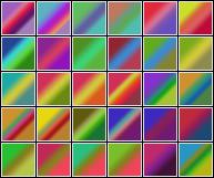 gradients 1. by chokingonstatic