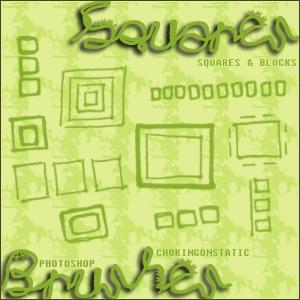 square brushes