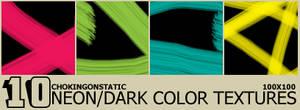 dark neon color textures.