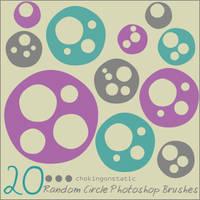 random circle brushes by chokingonstatic