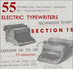 typewriter brushes