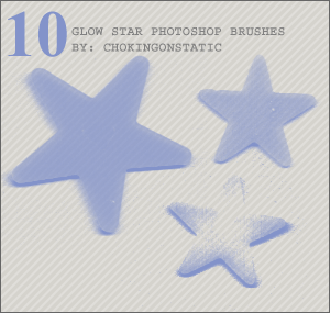 glow star brushes by chokingonstatic
