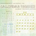 calendar brushes