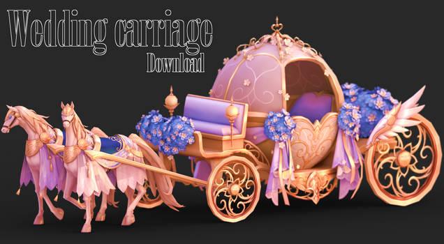 MMD DLs|Wedding Carriage by MiaLinny