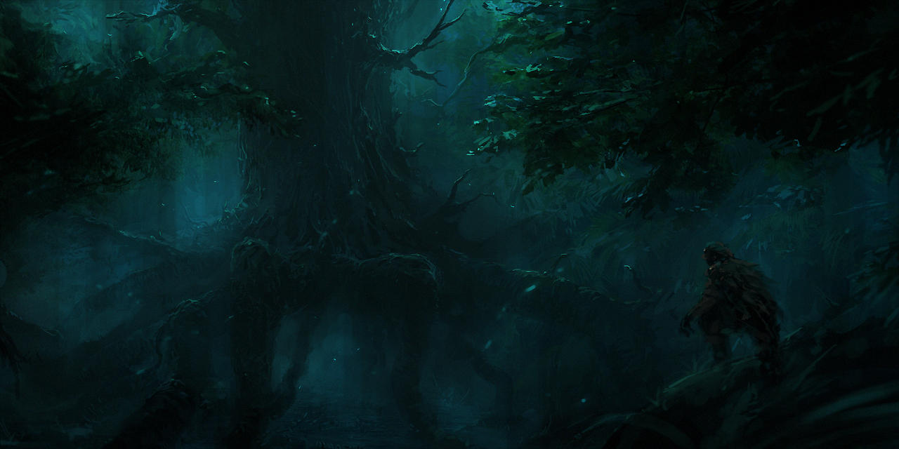The Changing Forest by ChrisCold