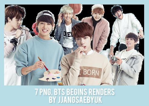 [RENDER] #04PACK BTS by jjangsaebyuk