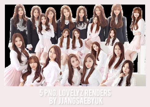 [RENDER] #07PACK LOVELYZ by jjangsaebyuk