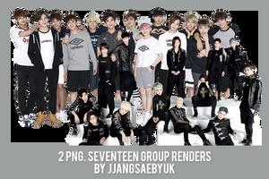 [RENDER] #09PACK SEVENTEEN by jjangsaebyuk