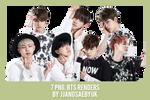 [RENDER] #13PACK BTS by jjangsaebyuk