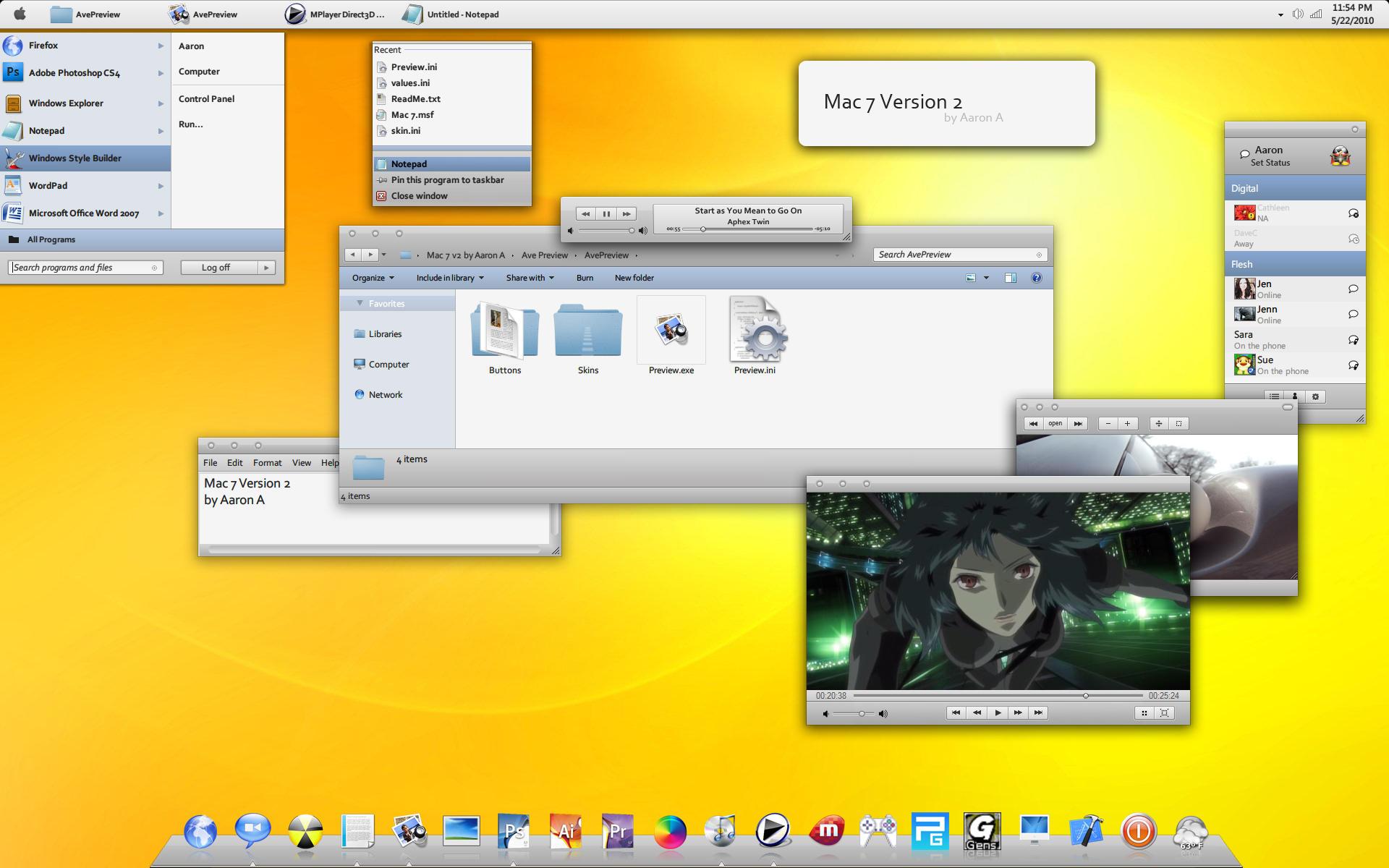 Mac 7 Version 2 by Aaron-A-Arts