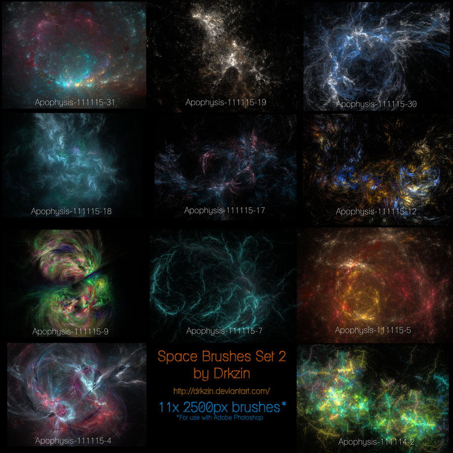 Кисти Galactic_space_brushes_set_2_by_drkzin-d4giwo5