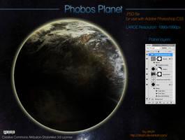 Phobos Planet by drkzin