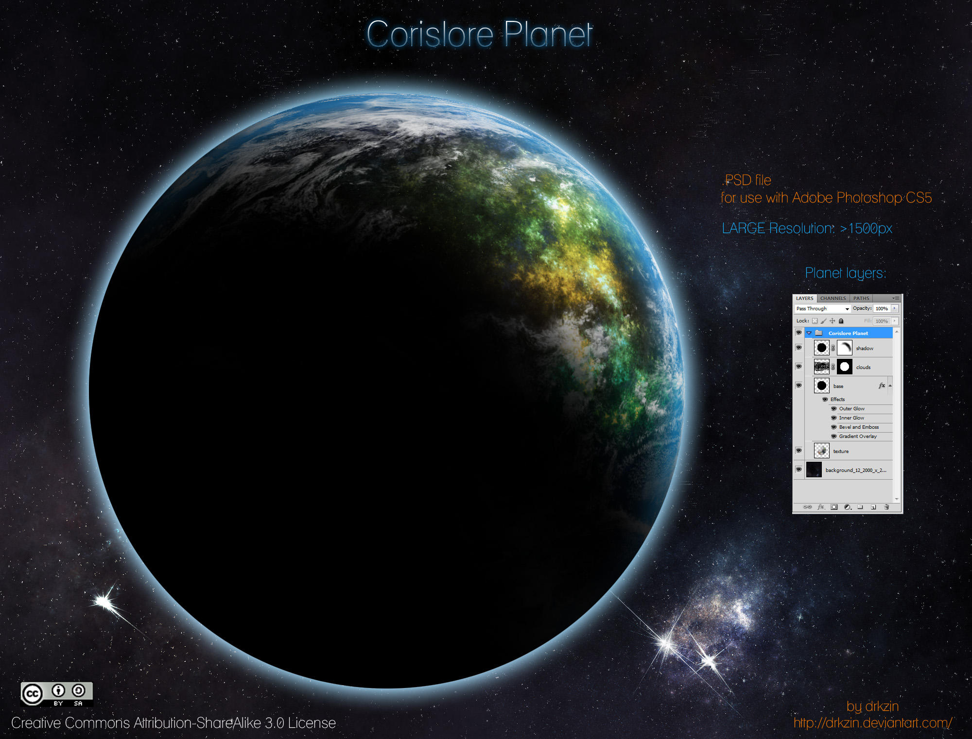 Corislore Planet by drkzin