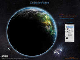 Corislore Planet by drkzin