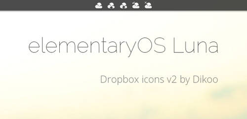 elementaryOS Dropbox icons v2 - biggest