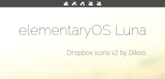 elementaryOS Dropbox icons v2 - biggest