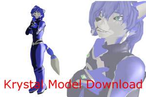 (MMD/SF) Warfaremachine MMD Krystal Download