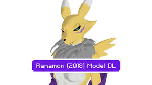 (MMD/DM) Warfaremachine Renamon (2018) :Model DL: