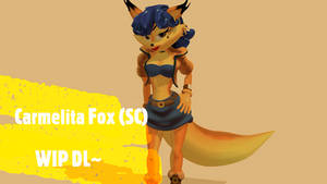 (MMD/SC) JCThornton (Carmelita Fox) Model DL :WIP: