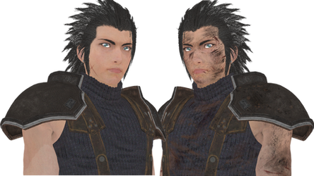 (MMD/FF7R) Zack Fair WIP :Model Download: