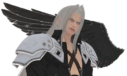 (MMD/FF7R) Sephiroth WIP :Model Download: