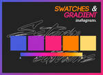 Swatches And Gradient Instagram By Sstormeditions