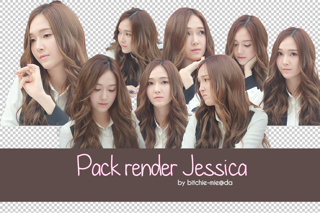 [061113] Pack png render Jessica #1 by bitchie-mie