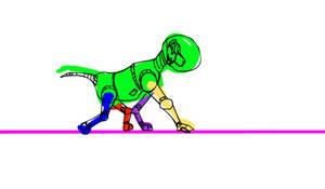 Monkey Walk Test 01
