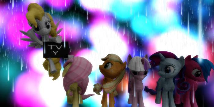 MMD G1 Ponies +DL