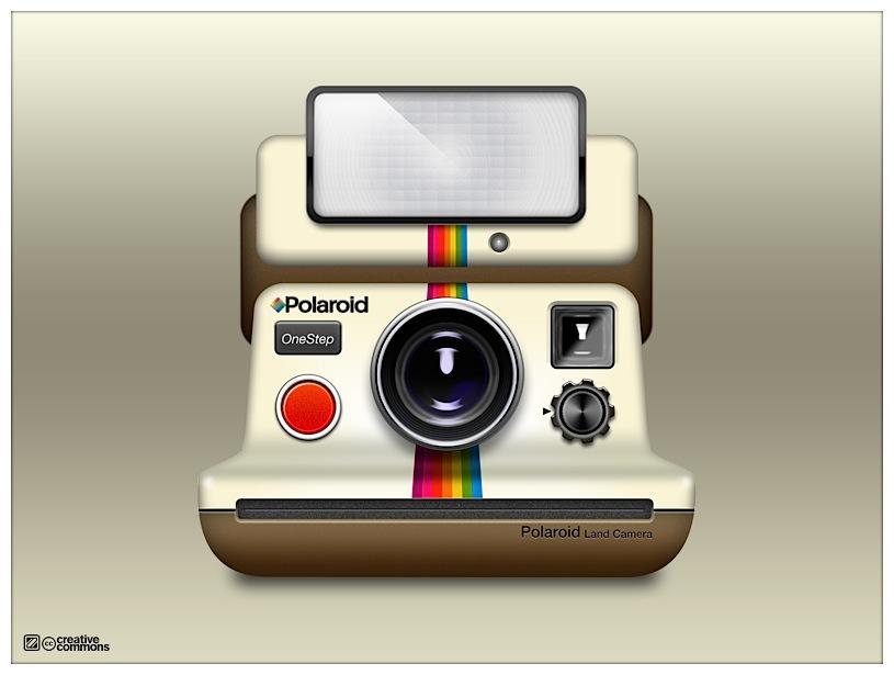 Polaroid camera icns