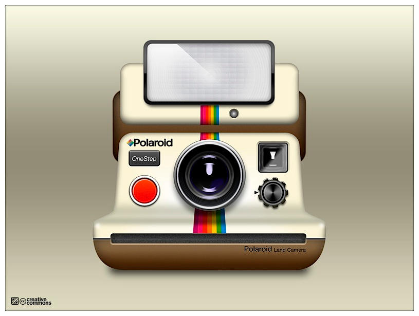 Polaroid camera icns by Macuser64