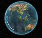 Earth in heart