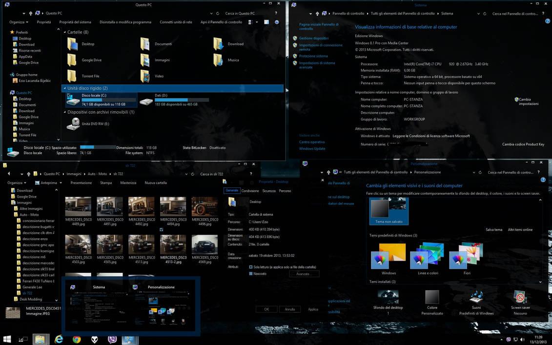 Abisso 2014 Dark Theme Windows 81 Update1 Upd11 By Ezio On Deviantart