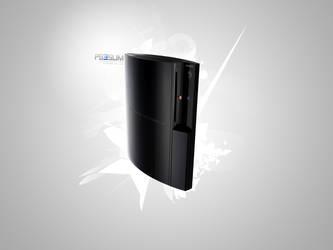 PS3 Slim Wallpaper