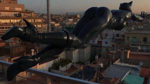 Catwoman Terrace Jump 1080p