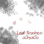 Ava's leaf brushes