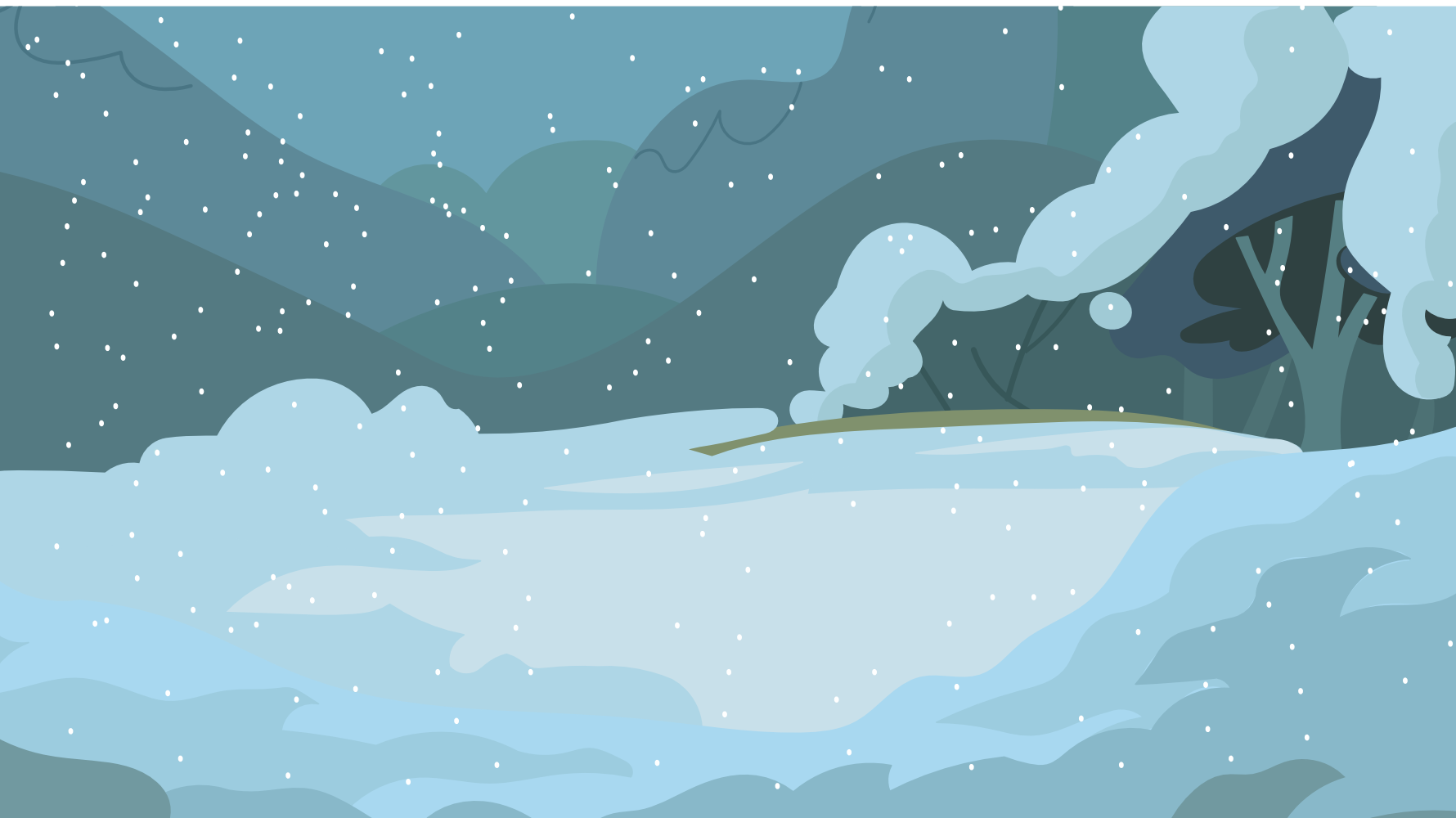Dark Snow Background by Grim-S-Morrison