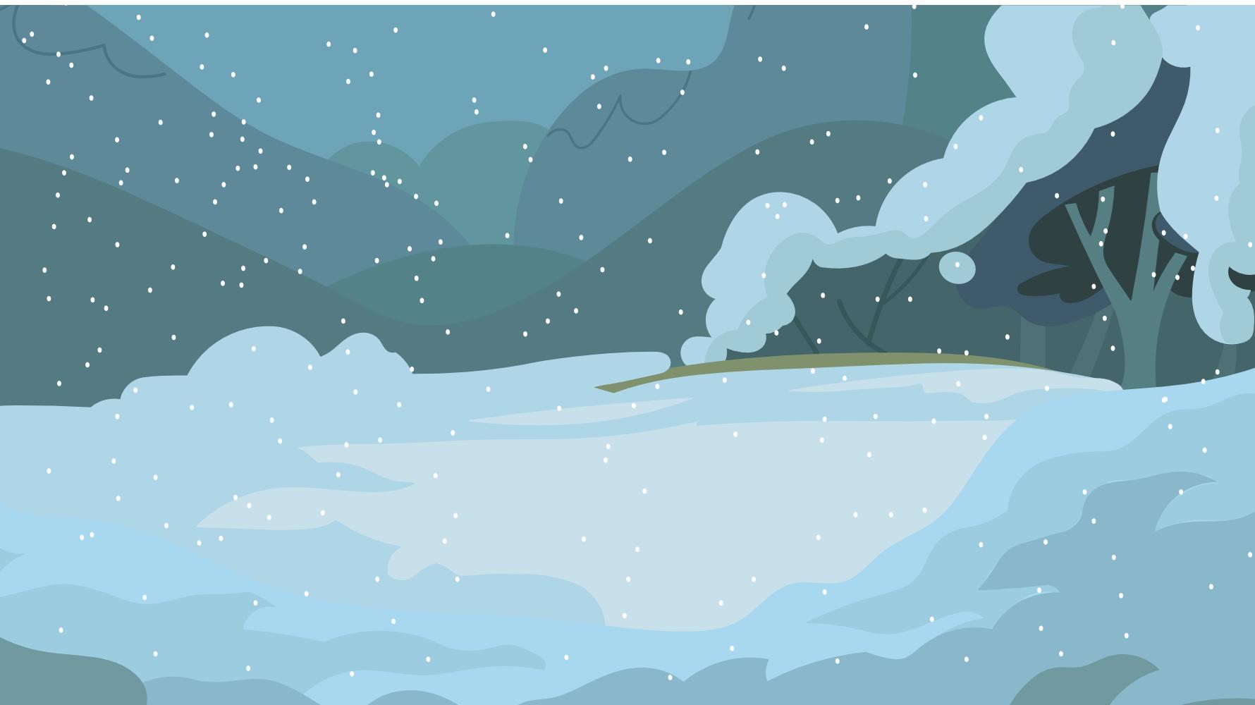 Dark Snow Background by Grim-S-Morrison
