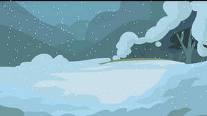 Dark Snow Background